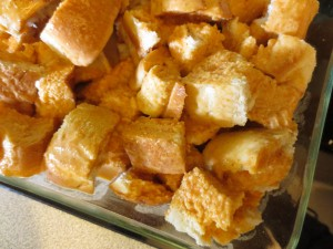 pumpkin custard french toast