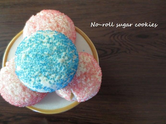No-Roll Sugar Cookies