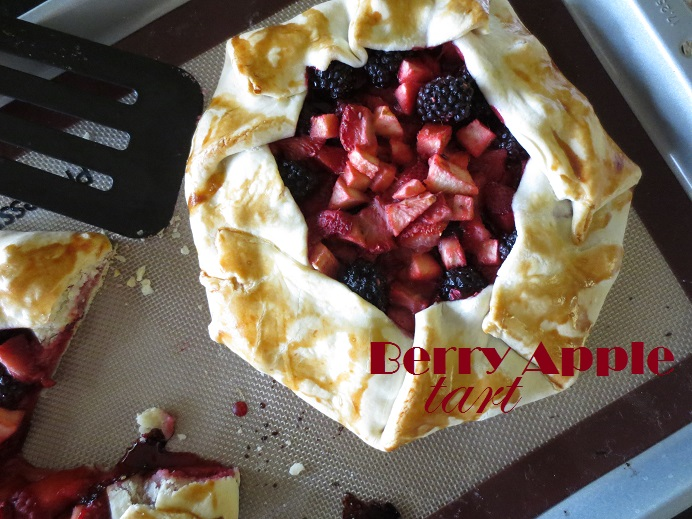 Berry Apple Tart