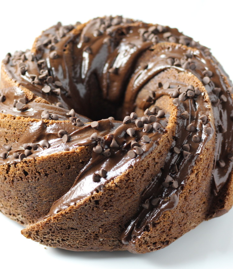 Triple Chocolate Bundt Cake Dough Eyed