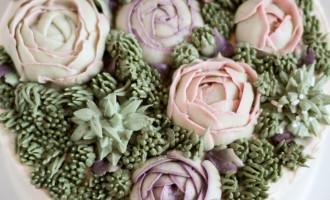 Succulent Cake   Succulent Frosting