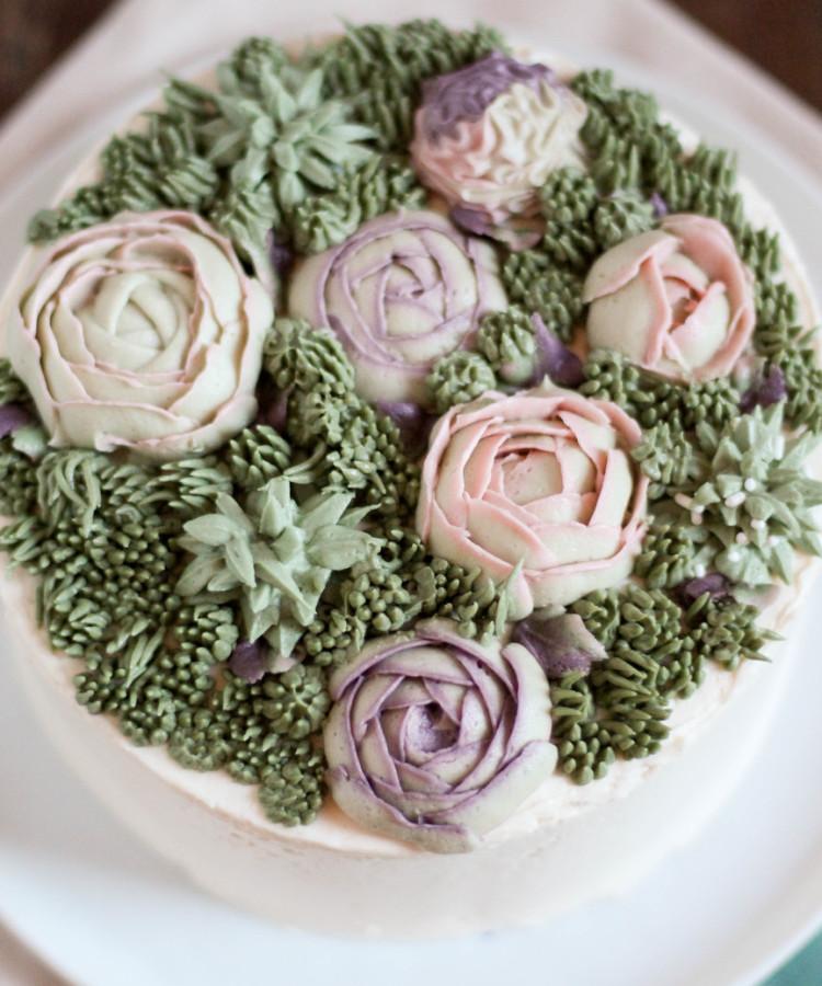Succulent Cake | Succulent Frosting