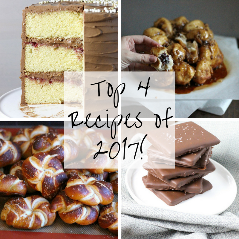 Top 4 Recipes of 2017!