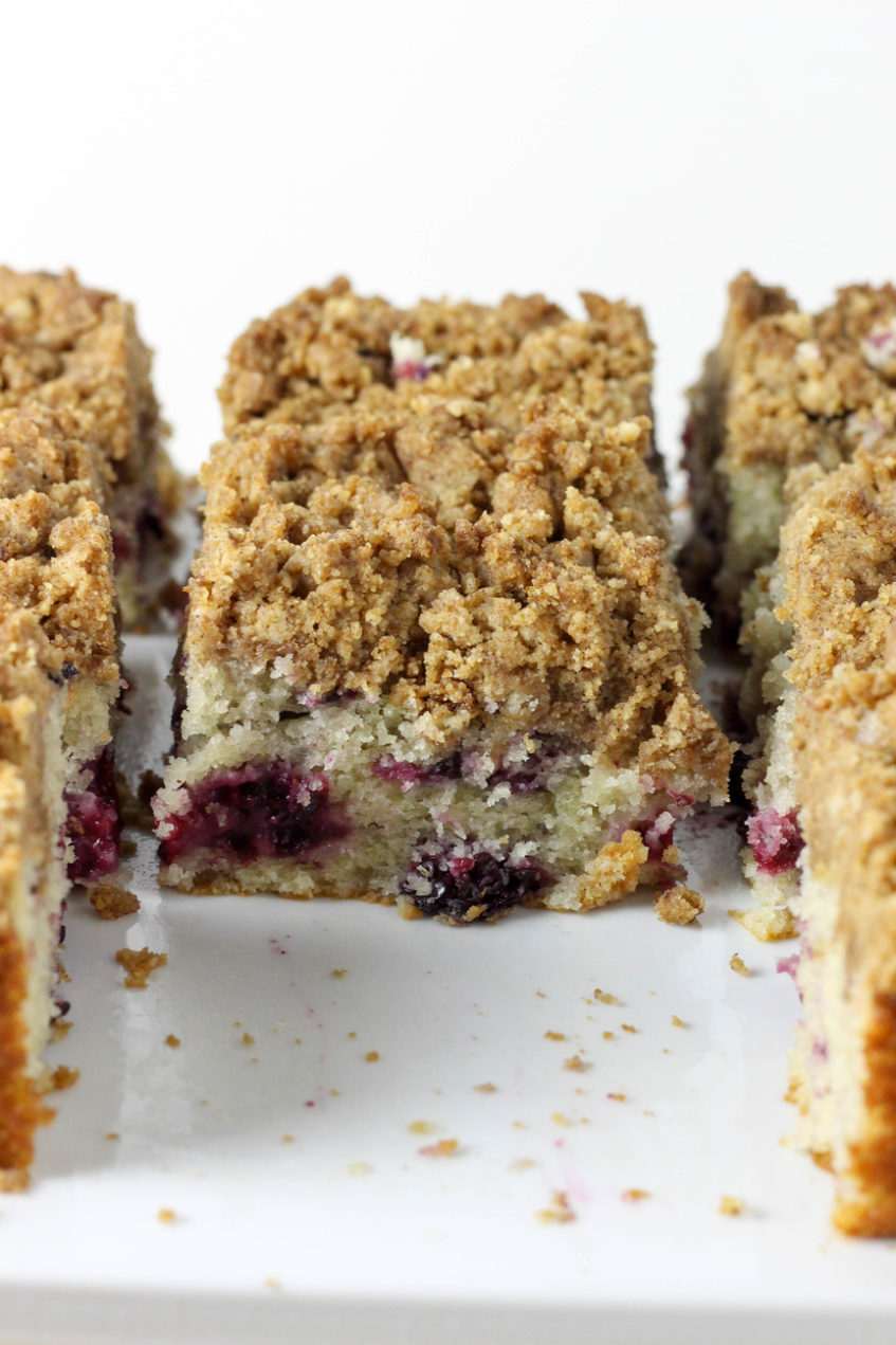 Blackberry Cake | High Altitude Coffee Cake