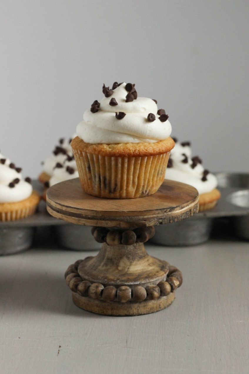 High Altitude Baking Recipes | Chocolate Chip Cupcakes
