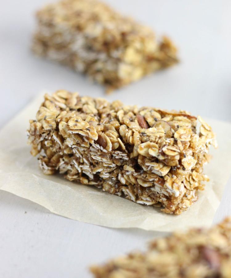Easy Granola Bar Recipe | Chewy Granola Bars