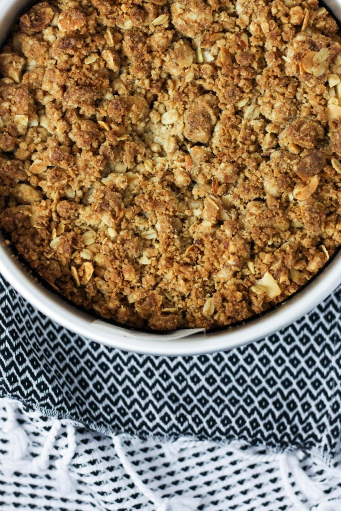 Almond Crumb Cake 3