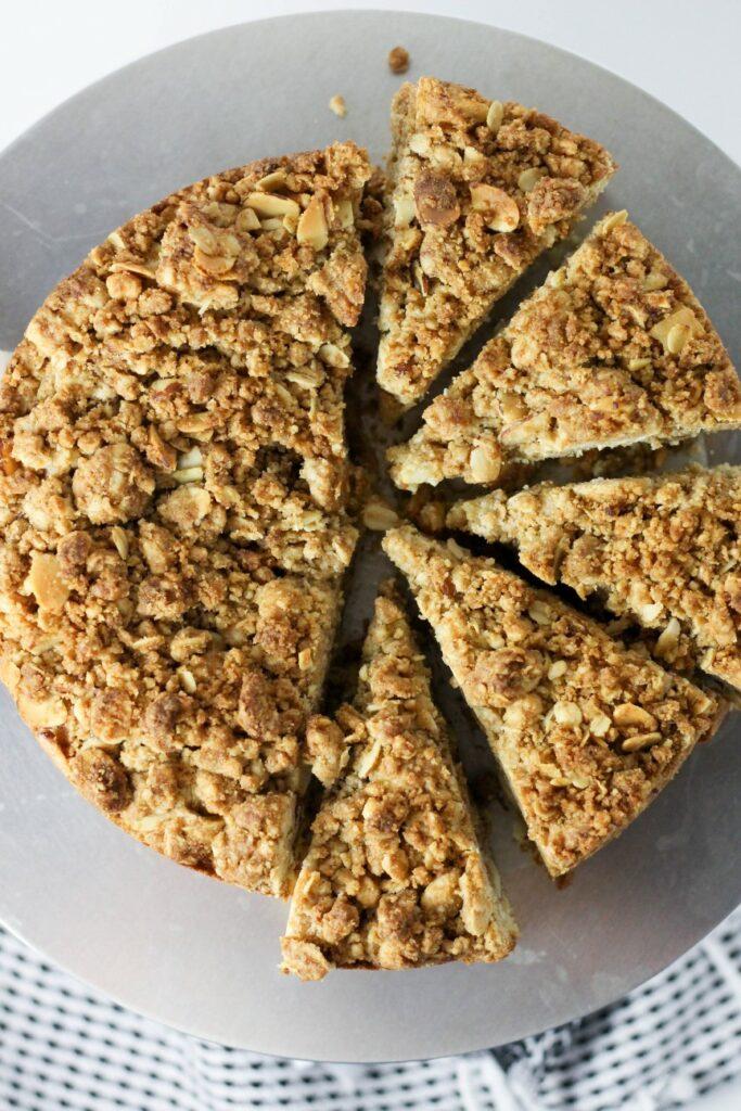 Almond Crumb Cake 4