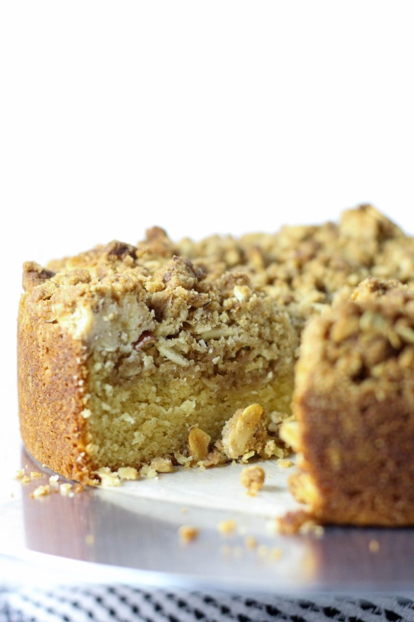 High Altitude Baking Recipes | Crumb Cake Recipe