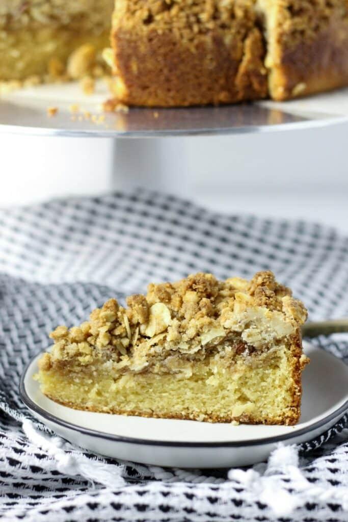 Almond Crumb Cake 7