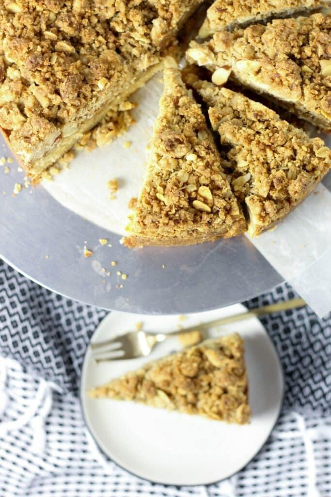 Almond Crumb Cake 8