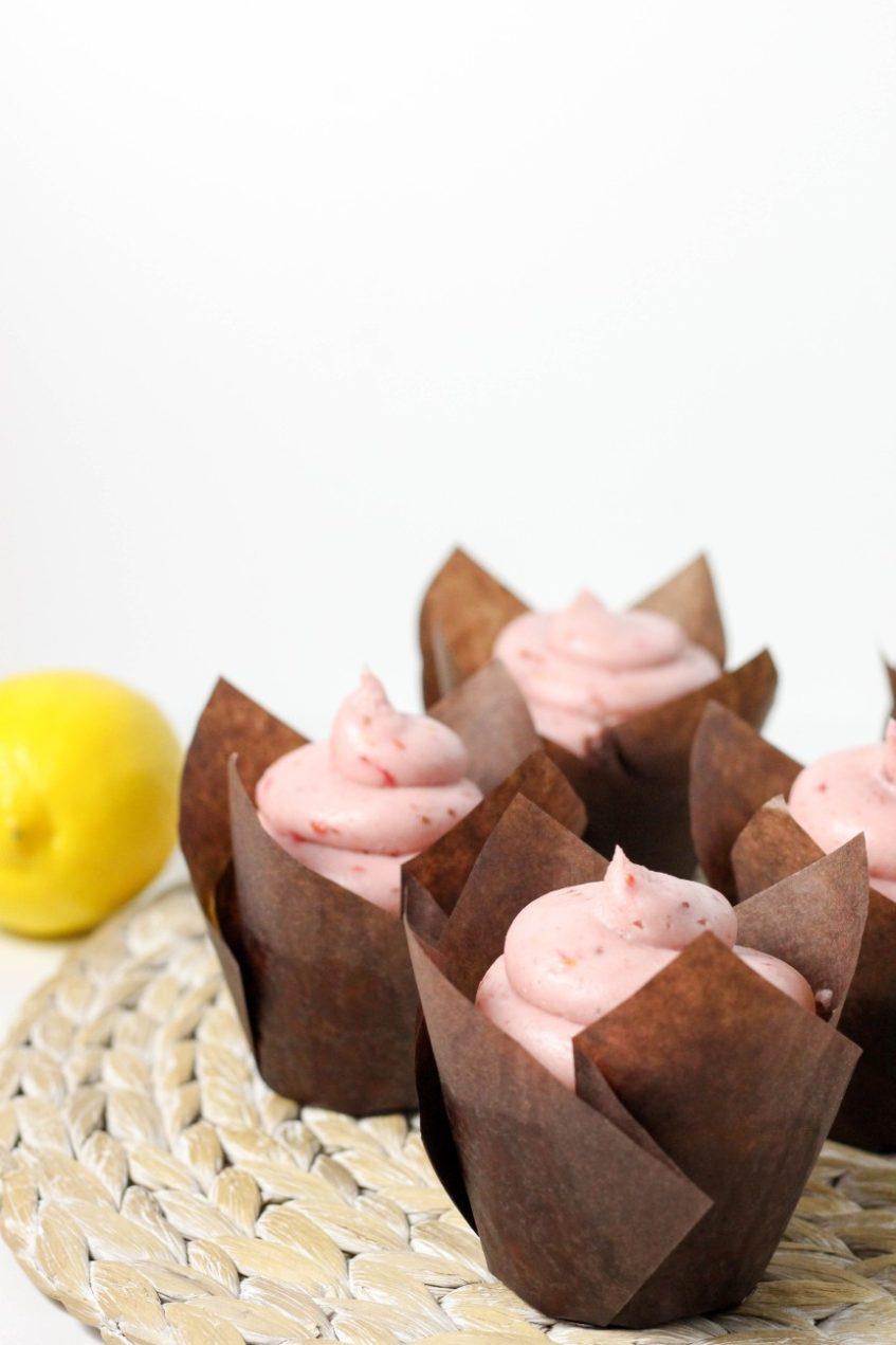 Raspberry Lemon Cupcakes | High Altitude Recipes