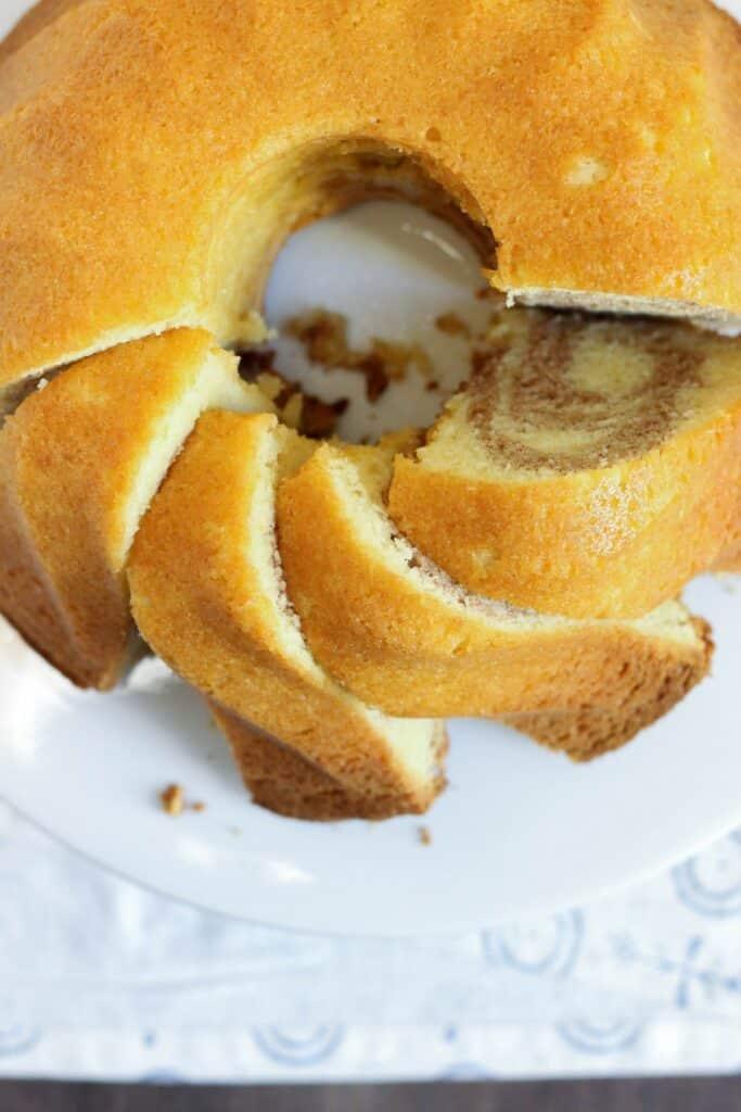 Cinnamon Swirl Cake 3
