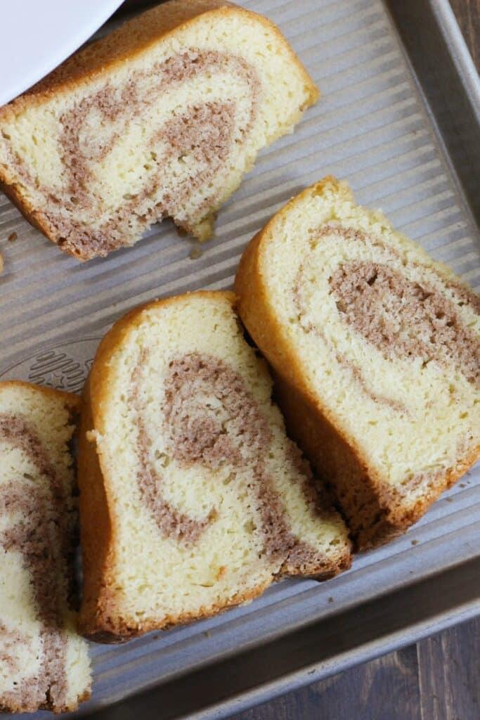 Cinnamon Swirl Cake 8