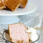 Strawberry Angel Food Cake | High Altitude Cake