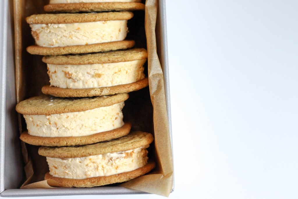 Butterscotch Ice Cream Sandwiches 5