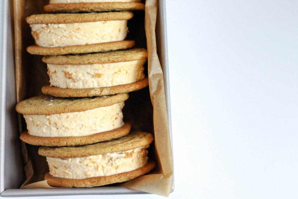Butterscotch Ice Cream Sandwiches 5