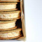 Homemade Butterscotch Ice Cream Sandwiches