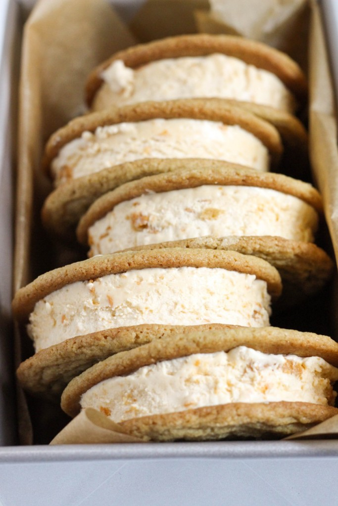 Butterscotch Ice Cream Sandwiches 6