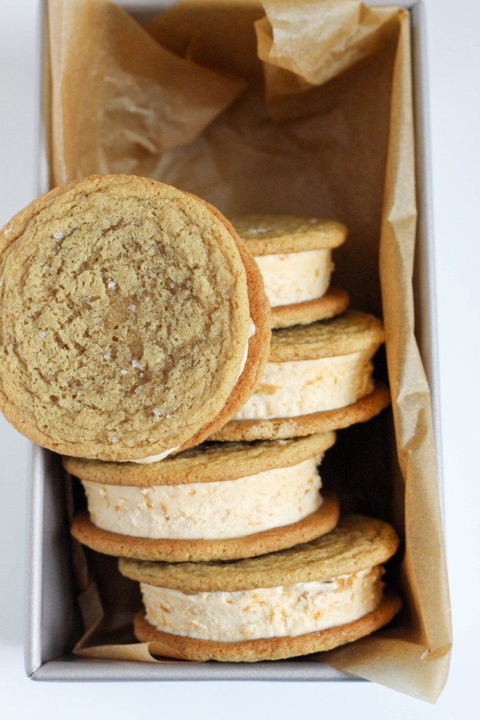 Butterscotch Ice Cream Sandwiches 7