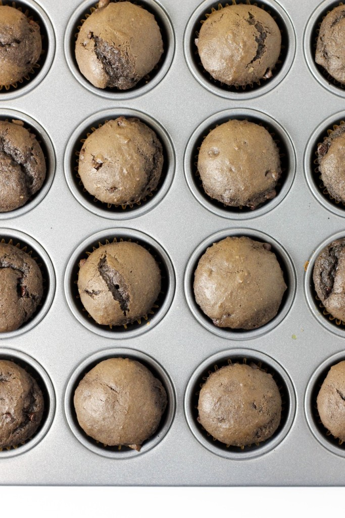 Chocolate Banana Muffins 2
