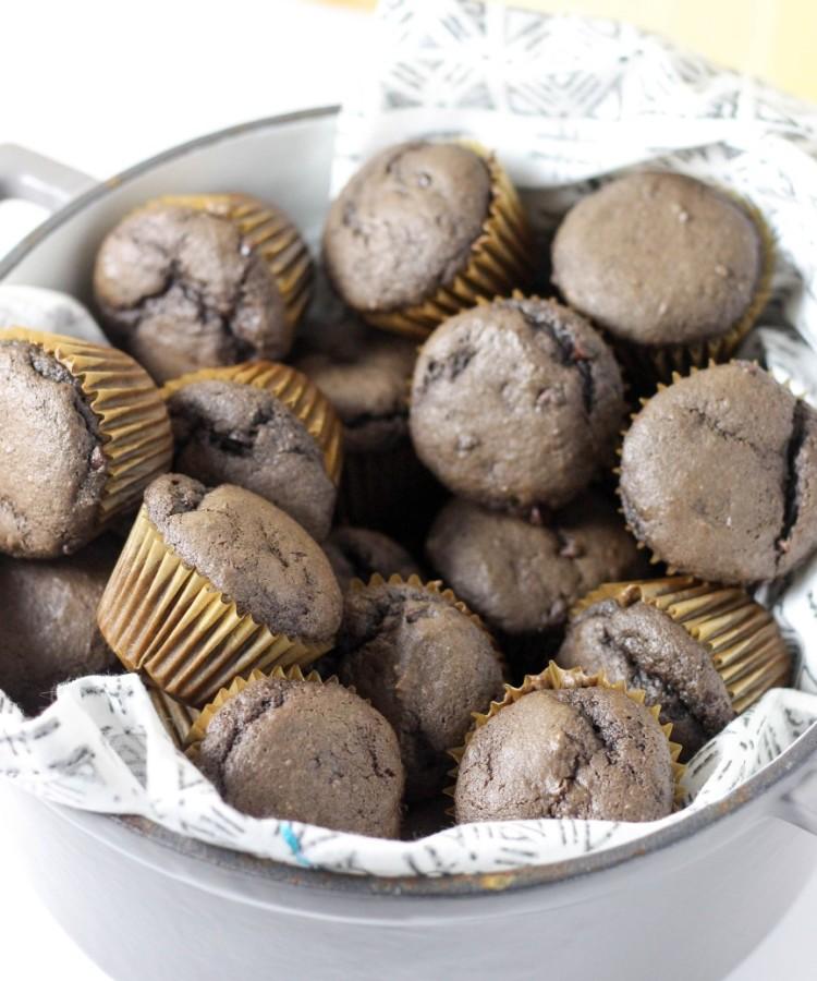 Banana Muffins | Chocolate Banana Muffins Recipe
