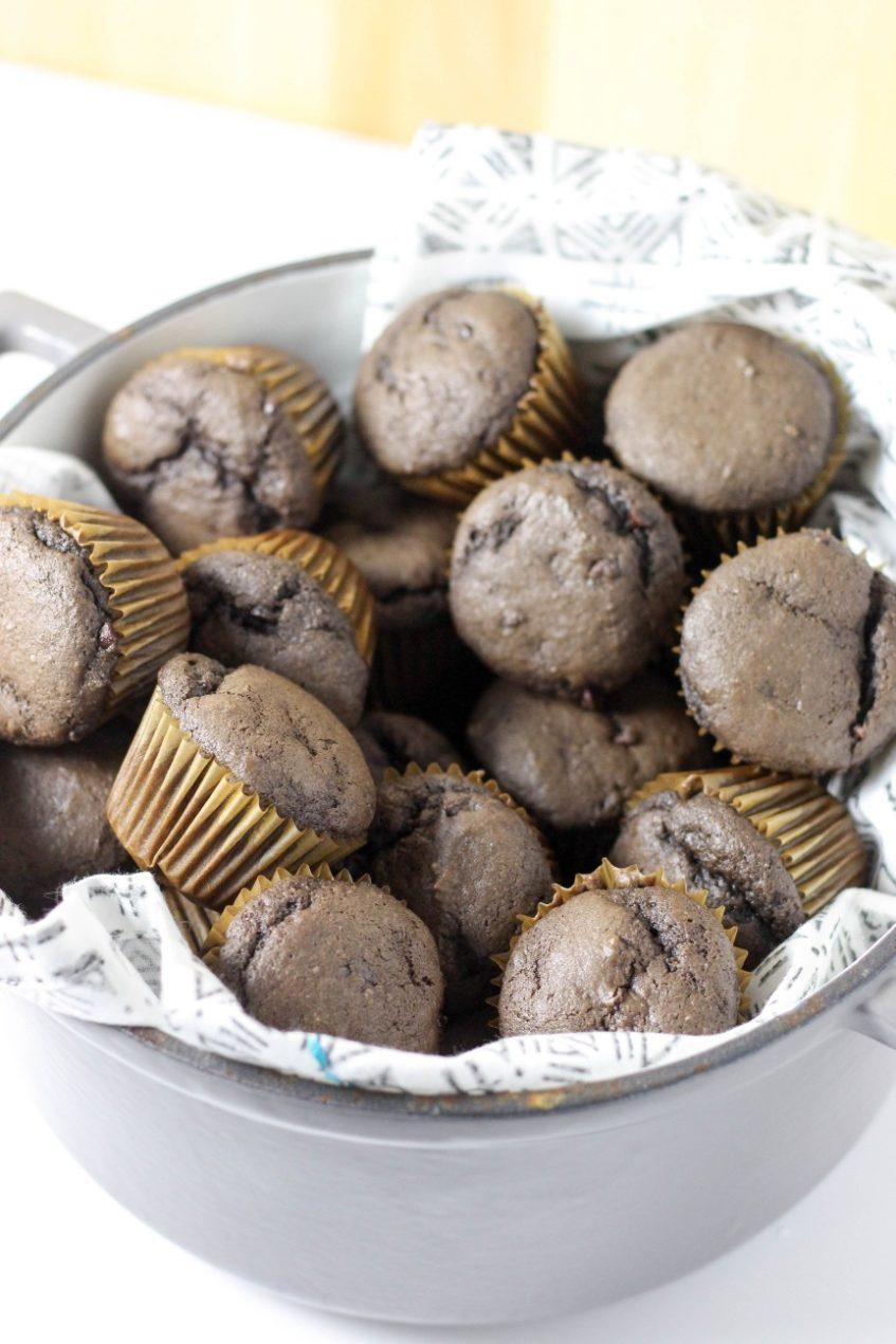 Banana Muffins   Chocolate Banana Muffins Recipe