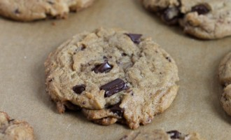 Fancy Chocolate Chip Cookies