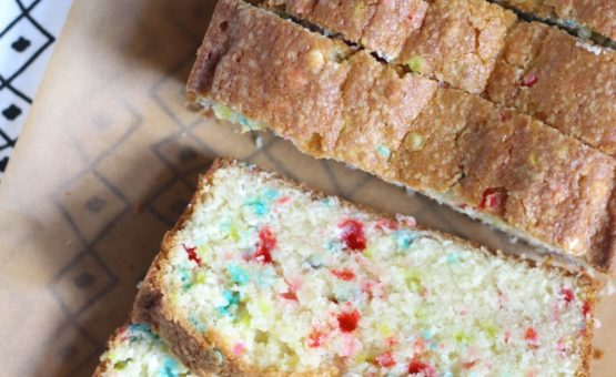 Confetti Pound Cake Recipe