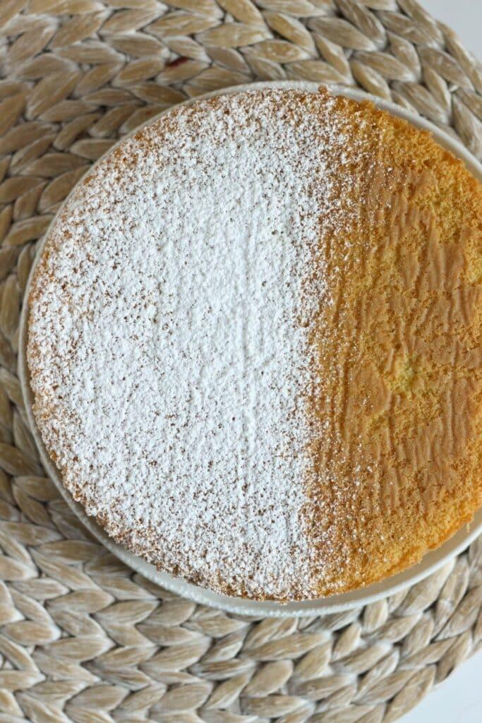 Vanilla Sponge Cake 4