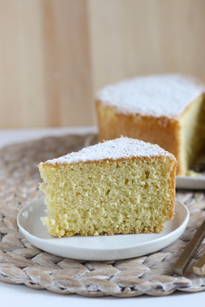 Vanilla Sponge Cake 5