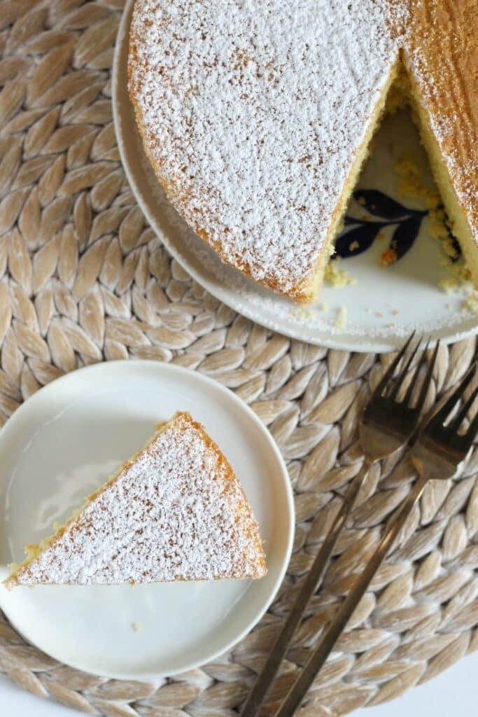 Vanilla Sponge Cake 6