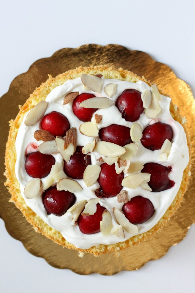 Cherry Almond Cake 3