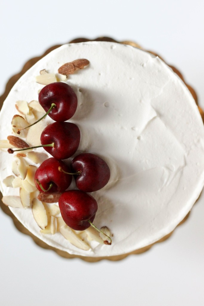 Cherry Almond Cake 4