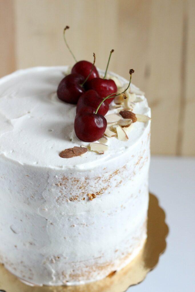 Cherry Almond Cake 5