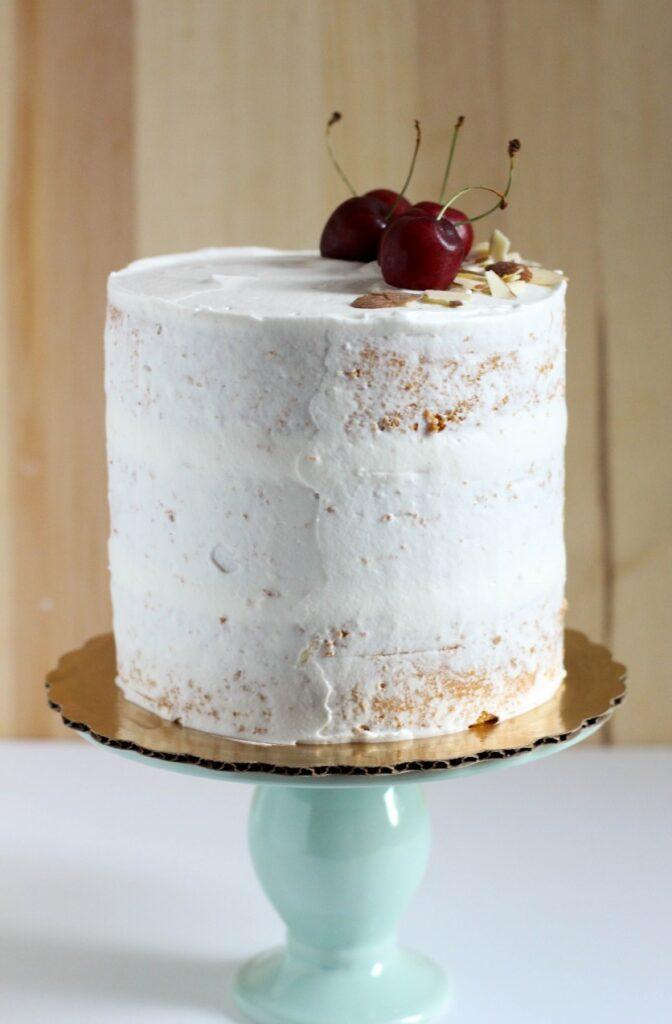 Cherry Almond Cake 6