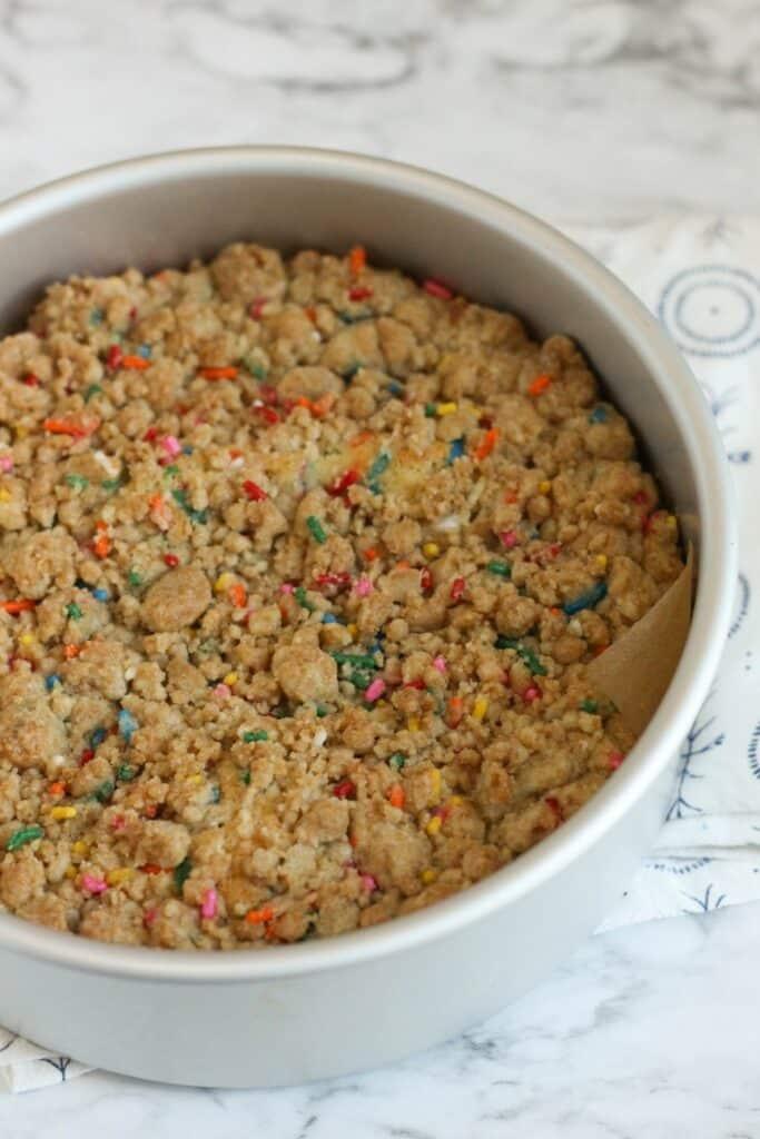 Funfetti Crumb Cake 5