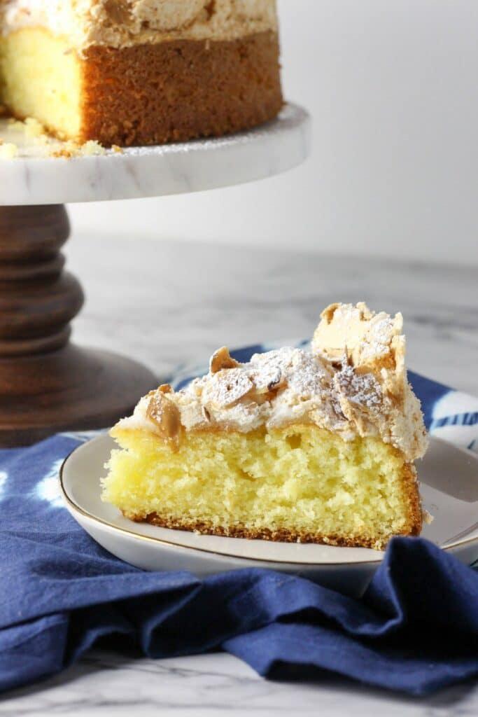 Almond Meringue Cake 6