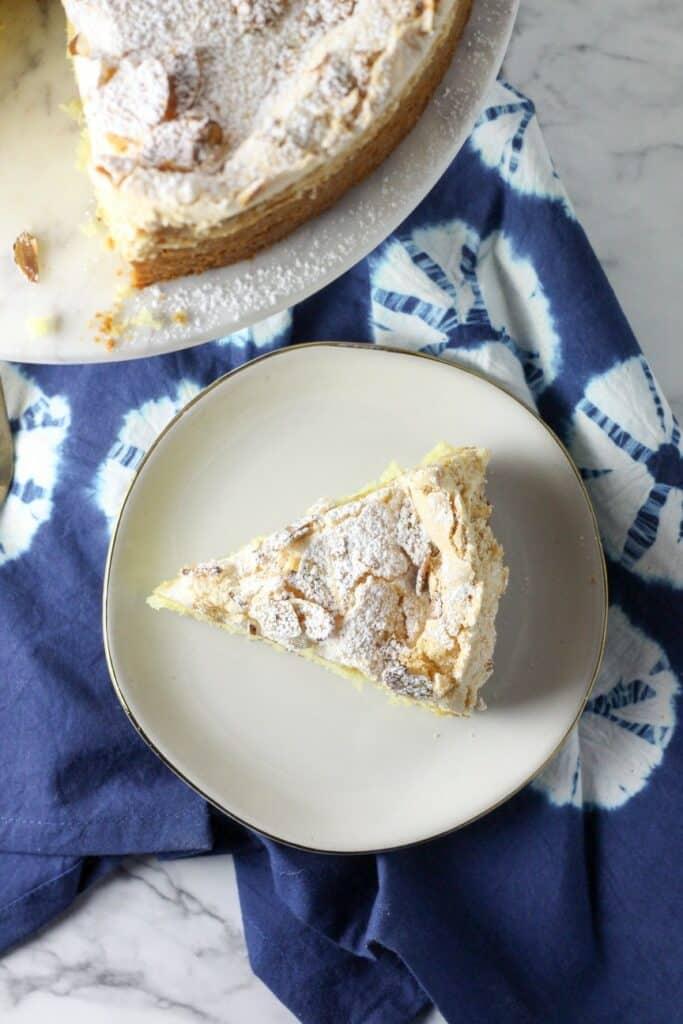 Almond Meringue Cake 7