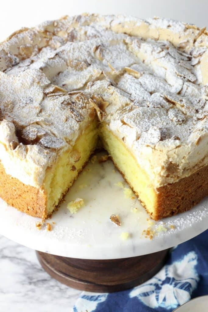 Almond Meringue Cake 8