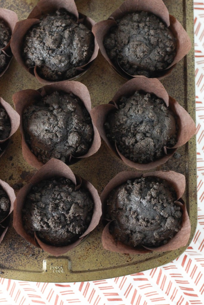 Chocolate Blueberry Muffins 3
