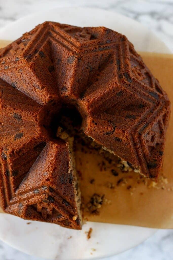 Espresso Pecan Pound Cake 6