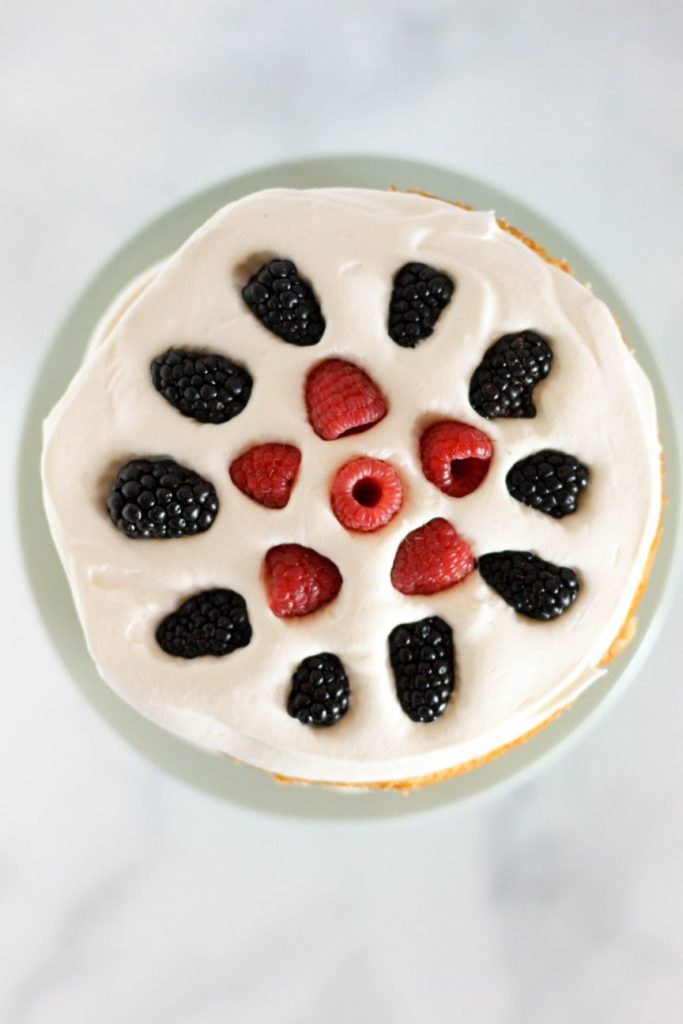Berries and Cream Cake