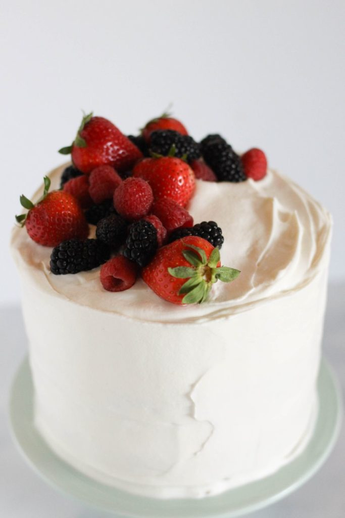 Chantilly Cake Recipe | Dough-Eyed
