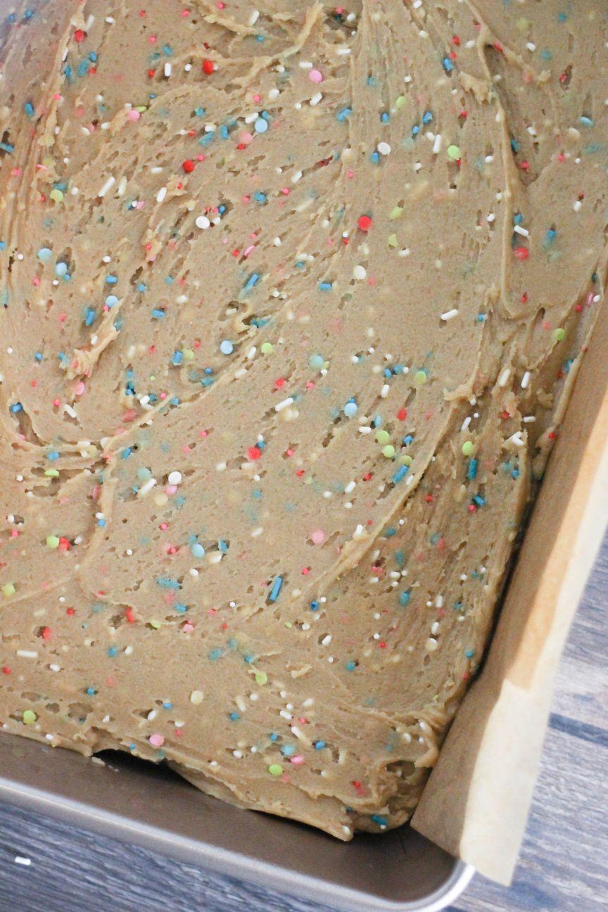 Superb Birthday Cake Blondies Dough Eyed Funny Birthday Cards Online Fluifree Goldxyz