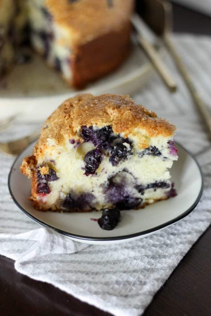 Blueberry Ricotta Cake Recipe | High-Altitude Cake