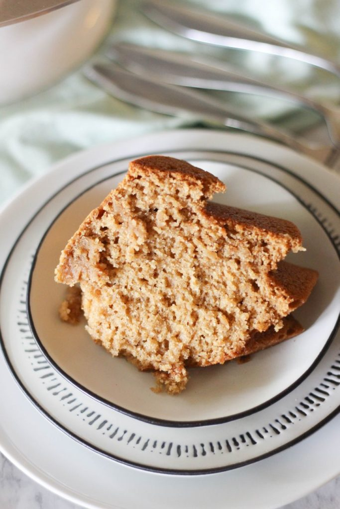 Apple Bundt Cake Slice | High-Altitude Baking