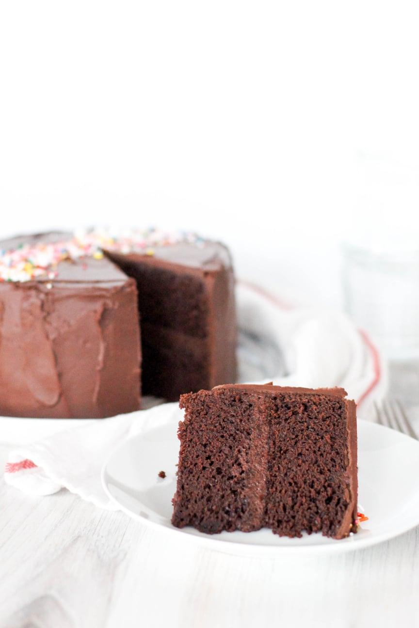 Perfect High Altitude Chocolate Cake Dough Eyed