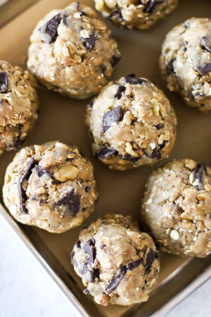 High Altitude Oatmeal Cookies Dough