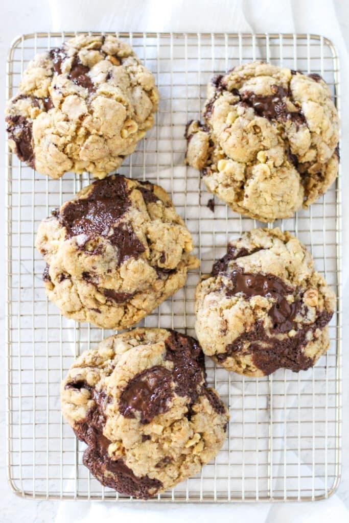 High Altitude Oatmeal Cookies